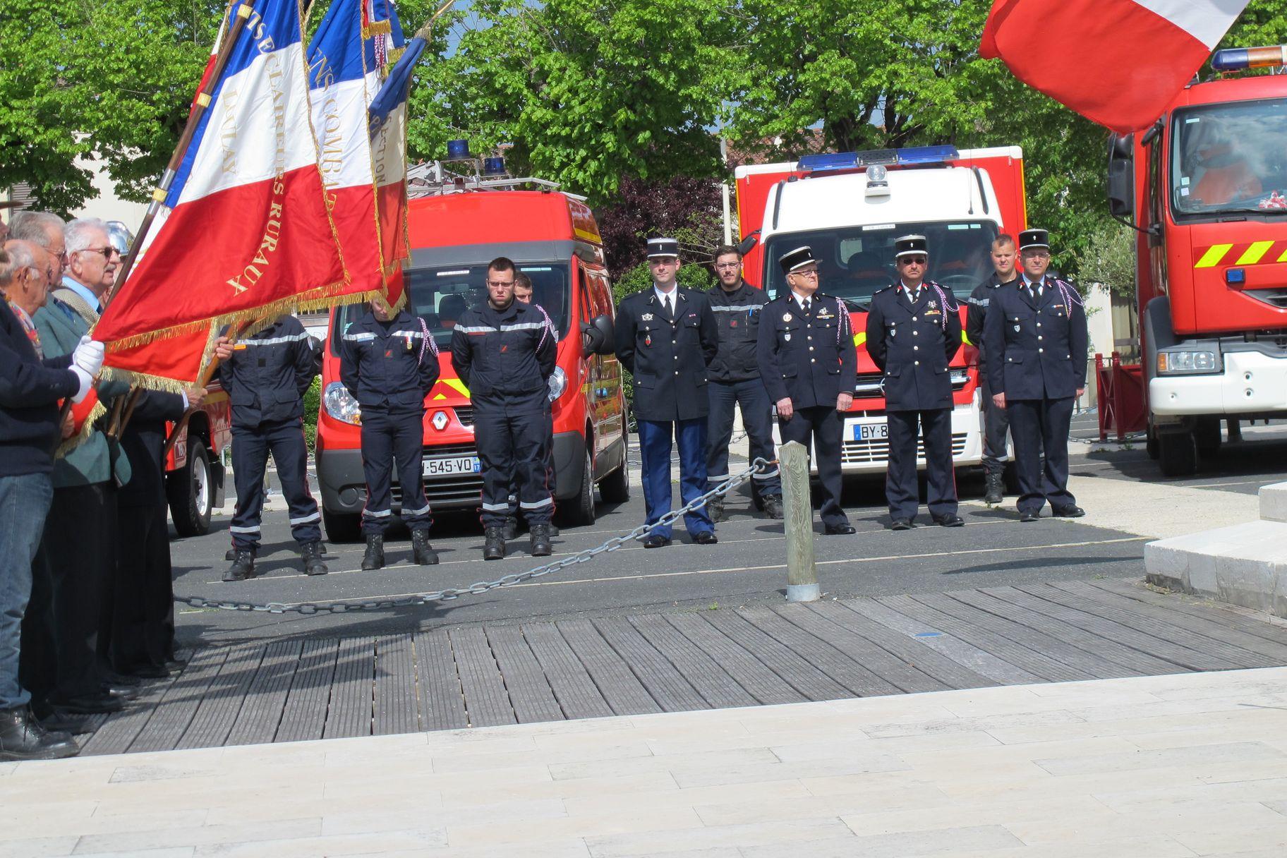 pompiers recueillement