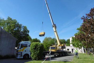 Installation d'un groupe électrogène à la maison de retraite
